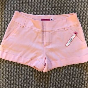 Alice and Olivia pink shorts